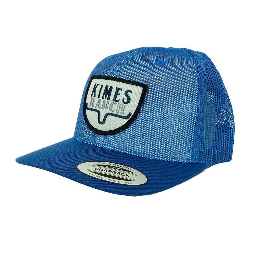 Kimes Ranch Ranger Trucker Blue Mesh Cap