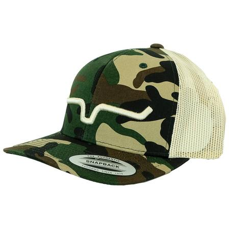 Kimes Ranch Weekly Trucker Camo Meshback Cap