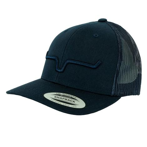 Kimes Ranch Navy on Navy Weekly Trucker Meshback Cap
