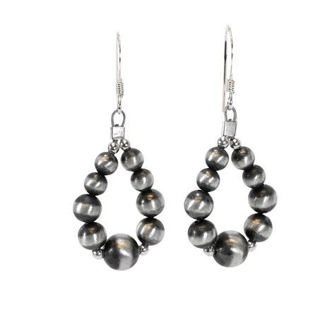 Navajo Pearl Drop Earrings
