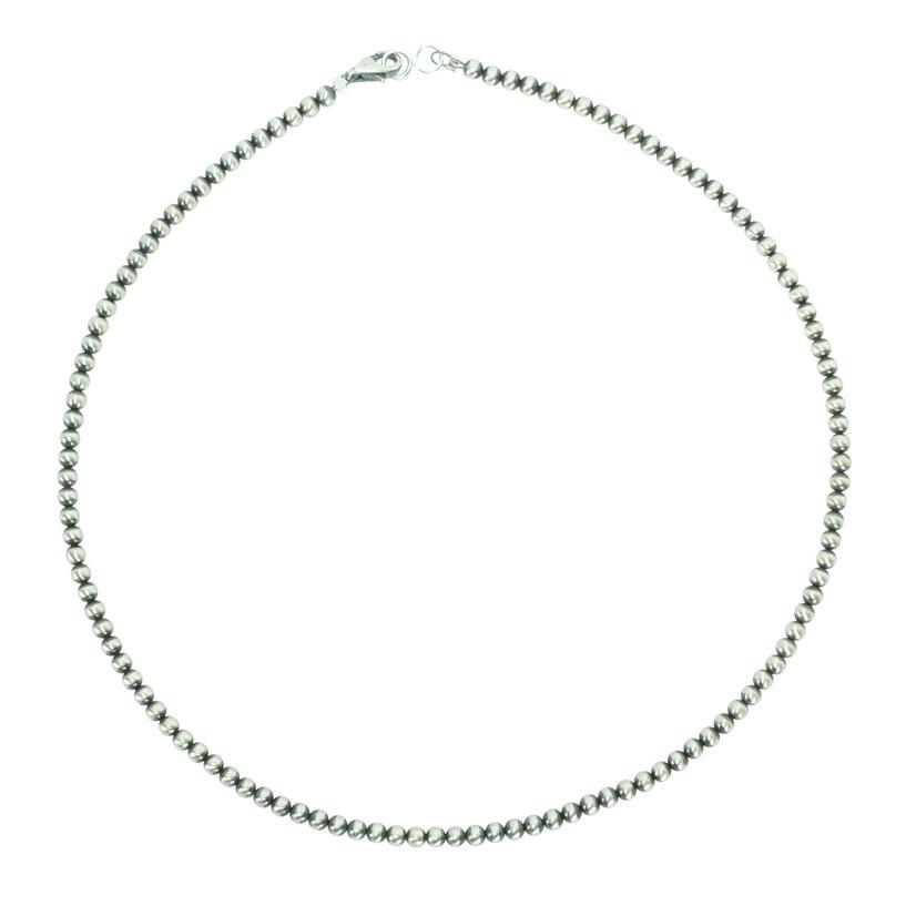 Navajo Pearl Necklace 3mm X 14inch