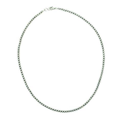 Navajo Pearl Necklace 3mm x 16inch