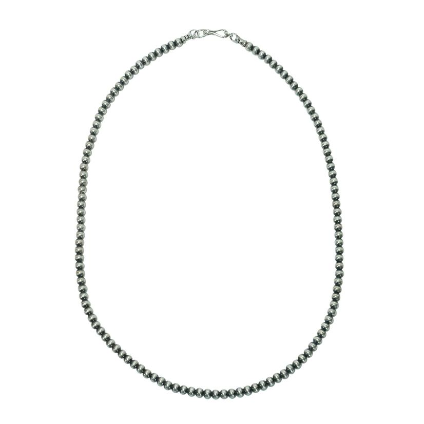 Navajo Pearl Necklace 4mm X 18inch