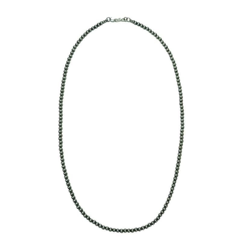 Navajo Pearl Necklace 4mm X 22inch