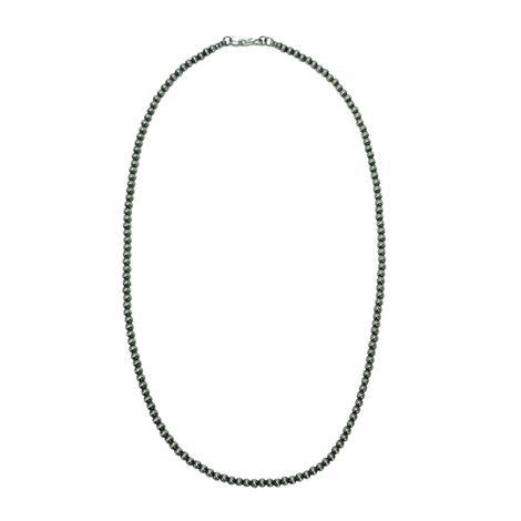 Navajo Pearl Necklace 4mm x 22inch