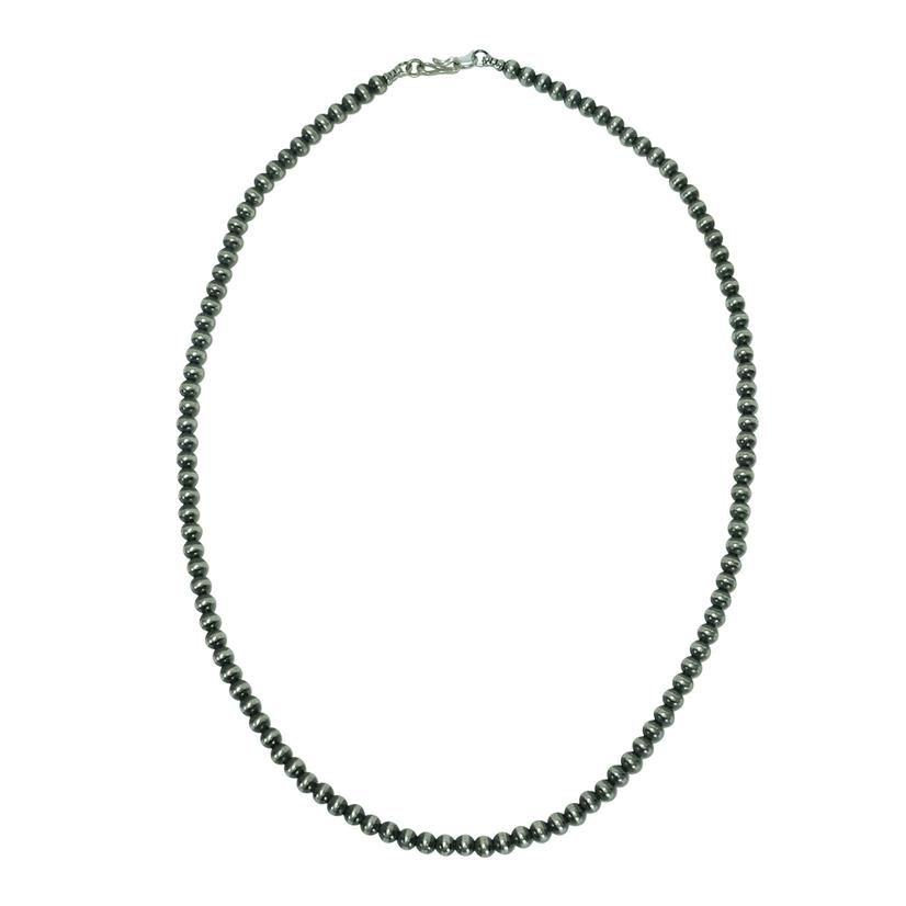 Navajo Pearl Necklace 5mm X 22inches