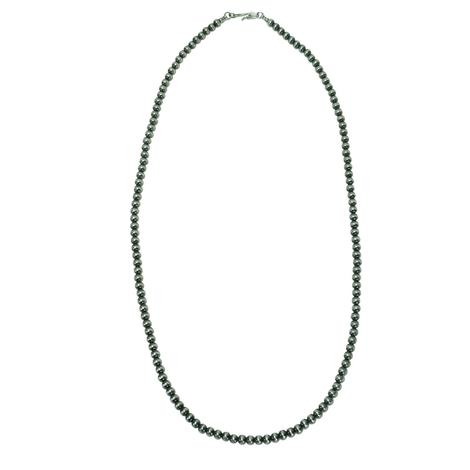 Navajo Pearl Necklace 5mm x 26inches