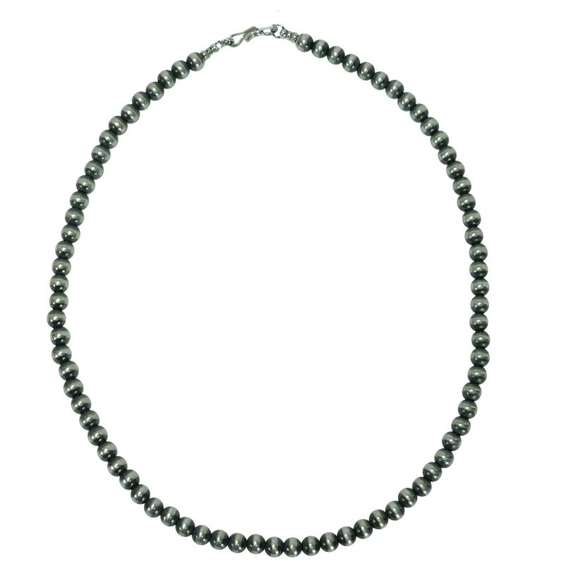 Navjo Pearl Necklace 6mm X 18inches