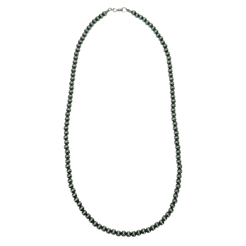Navajo Pearl Necklace 6mm X 26inches