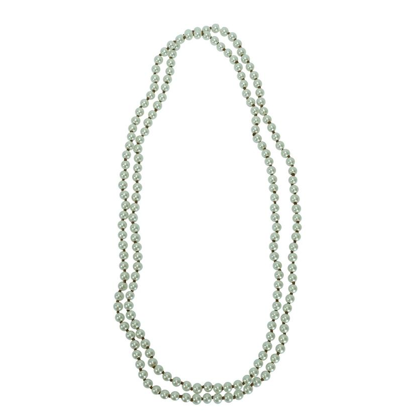 STT Medium Bead Long Strand Collection - Assorted Colors PEARL