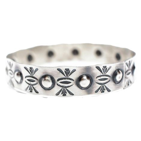 The Taos Silver Bangle 2