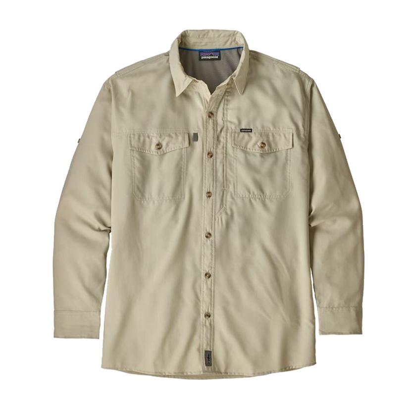 9212d94f Patagonia Patrol II Long Sleeve Pelican Men's Shirt
