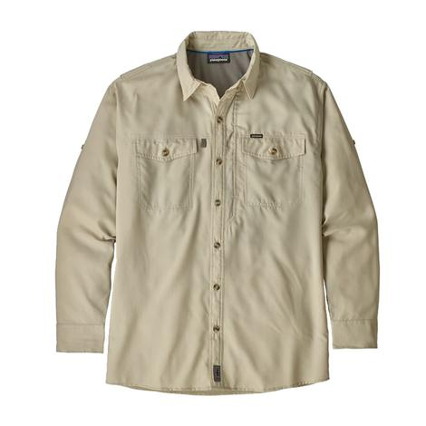 Patagonia Patrol II Long Sleeve Pelican Men's Shirt
