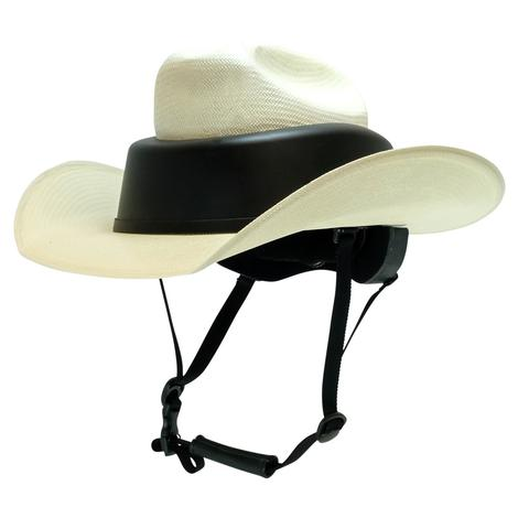 Resistol Natural Straw Hat Helmet