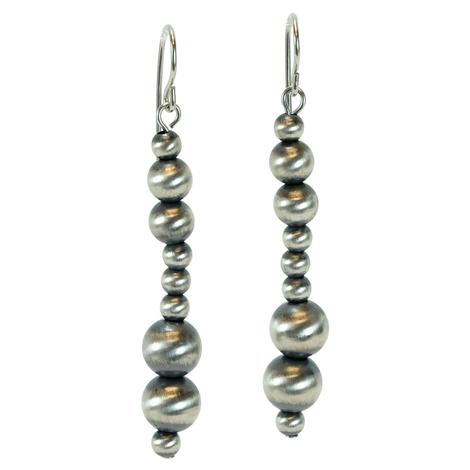 Navajo Pearl Multi-Size Dangle Earrings