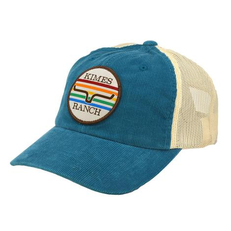Kimes Ranch Boulder CO Vintage Blue Meshback Cap