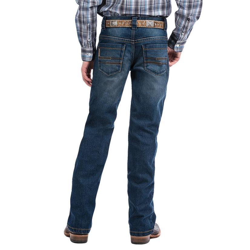 Cinch Slim Fit Stonewash Boy's Jeans Size 8- 16