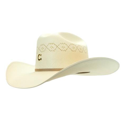 Charlie 1 Horse Bonus Natural Straw Hat 4.25 Brim