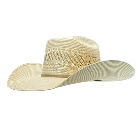 Resistol CJ Cojo Special Natural Straw Hat with Drilex