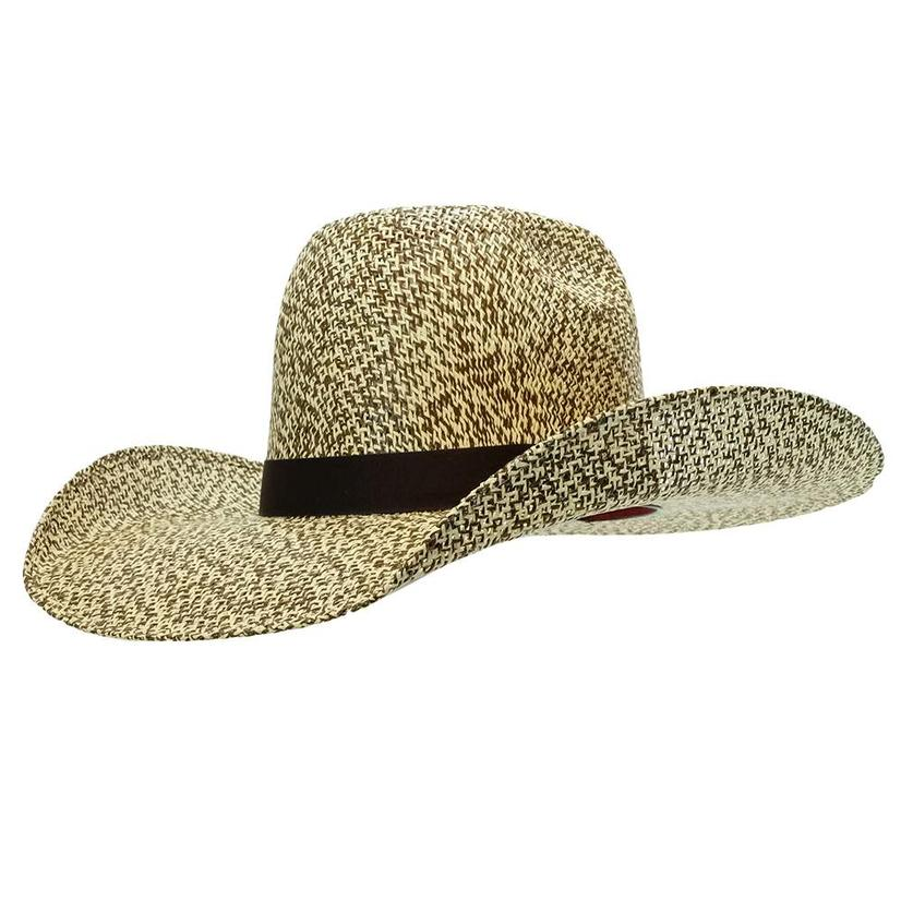 1f6e9fa01542b Resistol Hat Hooey Del Rio Natural Brown and Tan Straw Hat
