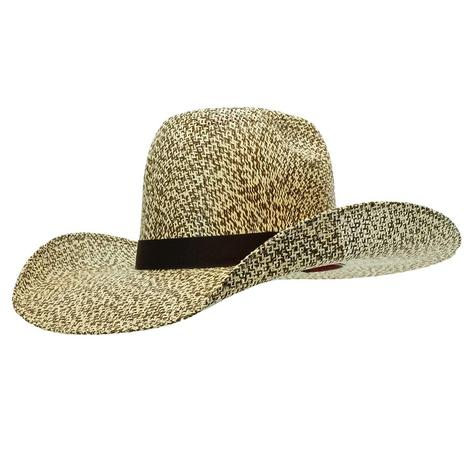 Resistol Hat Hooey Del Rio Natural Brown and Tan Straw Hat