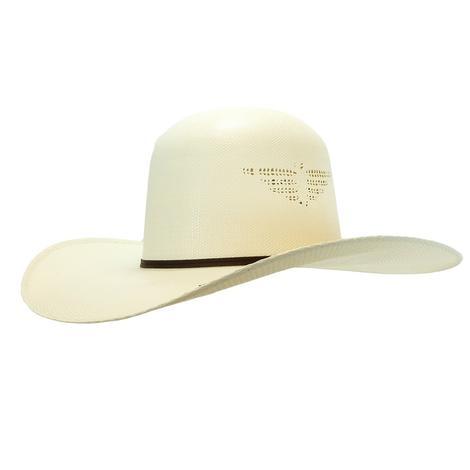 Resistol Whiskey Wild Man Natural Straw Hat