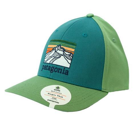 Patagonia Line Logo Ridge Roger That Tasmanian Teal Cap