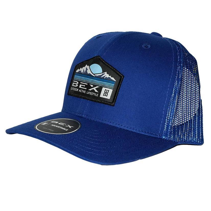 Bex Legend Blue Front Meshback Cap
