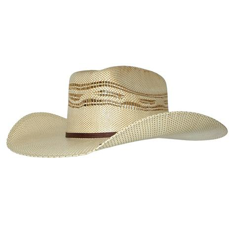 Twister Kids Tan Bangora Straw Hat