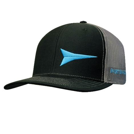Fastback Black and Blue Cap