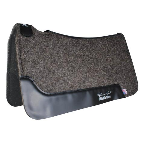 "Professional Choice Cowboy Air Ride Roper Pad Felt Bottom - Charcoal 31.5"" x 34"""