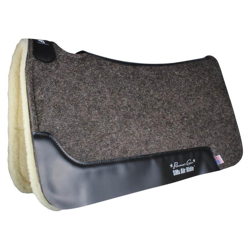 Professional Choice Cowboy Air Ride Roper Pad Fleece Bottom - Charcoal 31.5