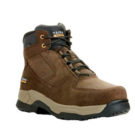 Ariat Contender Industrial Work 6inch Safety Toe Men's Boots