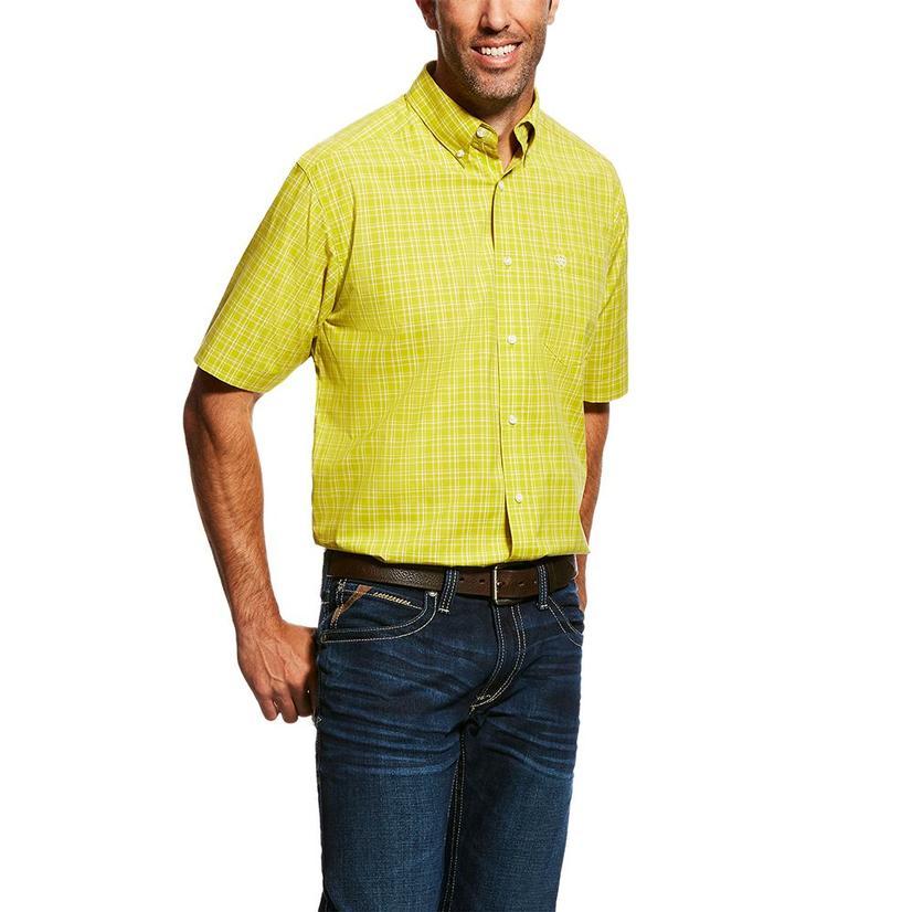 Ariat Citronelle Neilson Pro Series Short Sleeve Button Down Men's Shirt