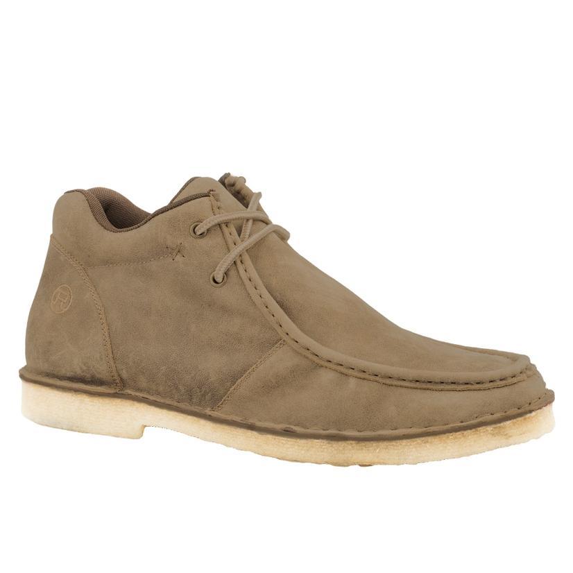 Roper Tan Vintage Chukka Lace Up Men's Shoe