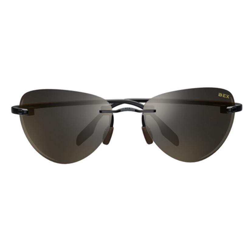 Bex Praahr Black And Brown Sunglasses