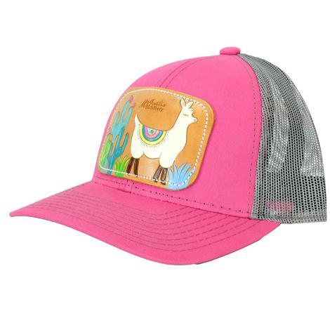 Miranda McIntire Llama Pink Meshback Cap