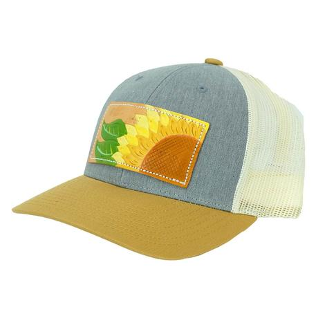 Miranida McIntire Sunflower Mustard and Grey Heather Meshback Cap