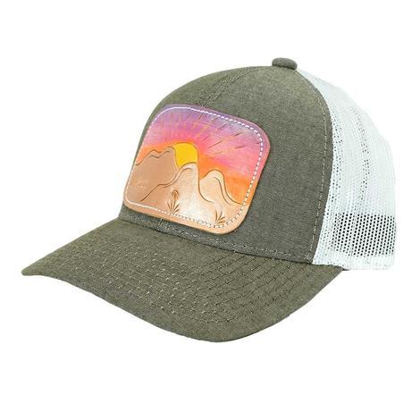 Miranda McIntire Mountain Sun Heathered Brown Meshback Cap