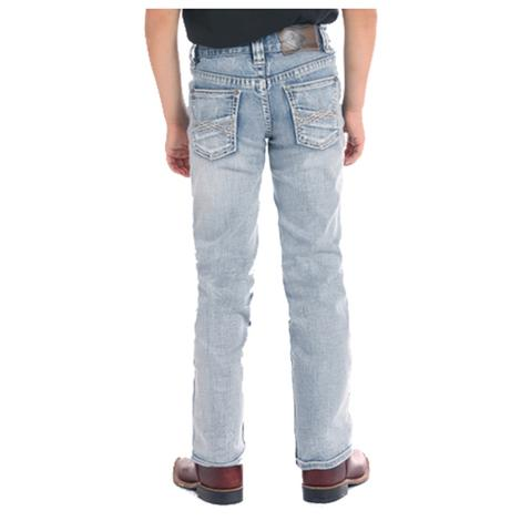 Rock and Roll Cowboy Reflex Medium Wash Boy's Jeans