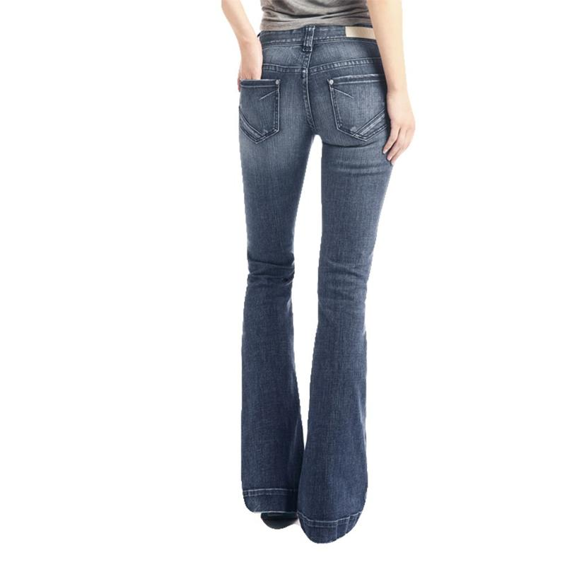 Rock And Roll Cowgirl Medium Vintage Women's Trouser Jean