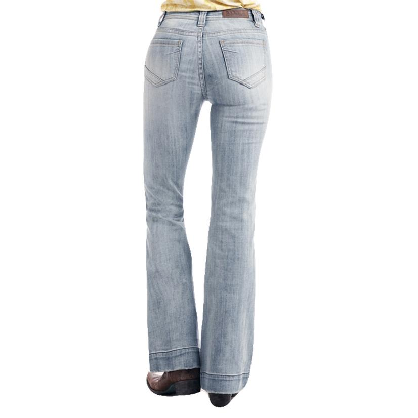 Rock And Roll Cowgirl Light Vintage Trouser Jeans