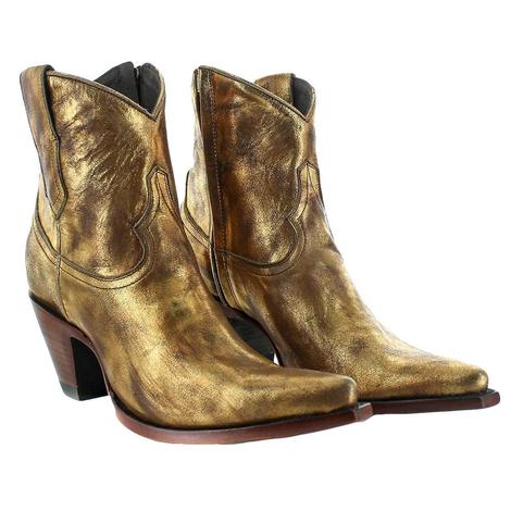 Old Gringo Bridget Luxor Gold Women's Shortie Boots