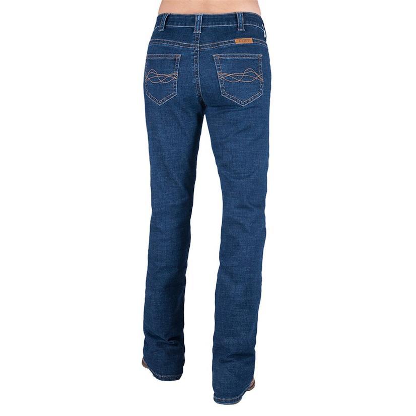 Cowgirl Tuff Delux Dark Wash Bootcut Women's Jeans