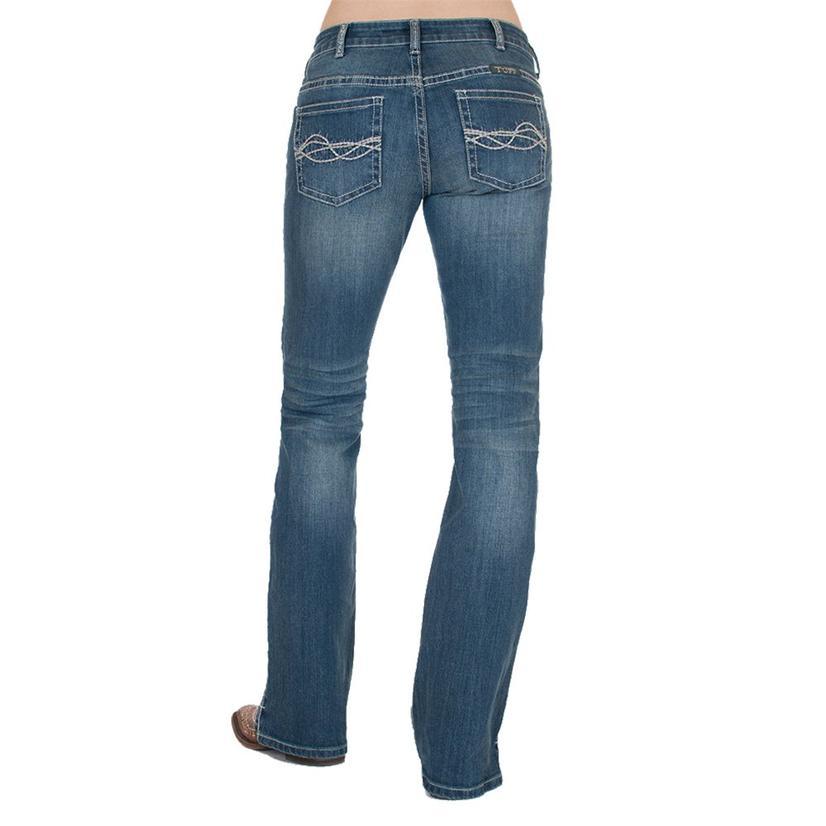 Cowgirl Tuff Inspire Medium Wash Bootcut Women's Jeans