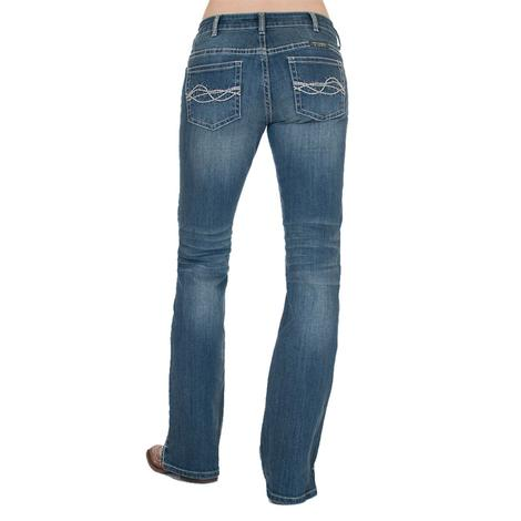 Cowgirl Tuff Inspire Medium Wash Bootcut Women's Jeans