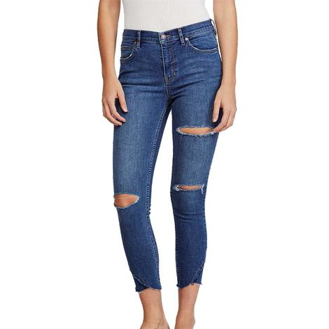 Free People Sunny Midrise Skinny Jeans