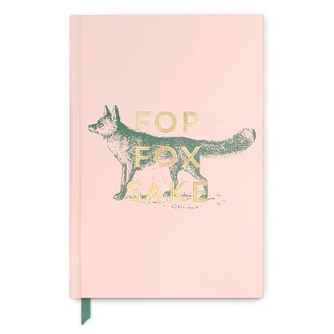 For Fox Sake Pink Journal