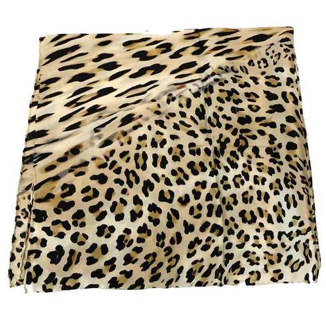 Leopard Charmeuse Scarf 34x34