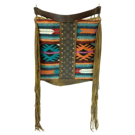 Navajo Luis Vuitton Strip Rosie Tote